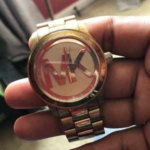 Very nice MK designer watch(Battery needed)